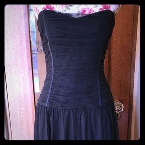 Black Betsy Johnson evening dress